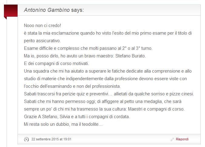Antonino Gambino 2015